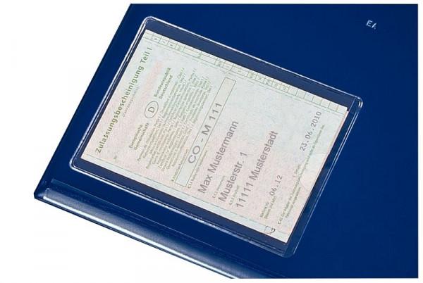 Eichner Selbstklebe-Fahrzeugschein-Tasche, Transparent, VE: 10 Stück, 9218-04002