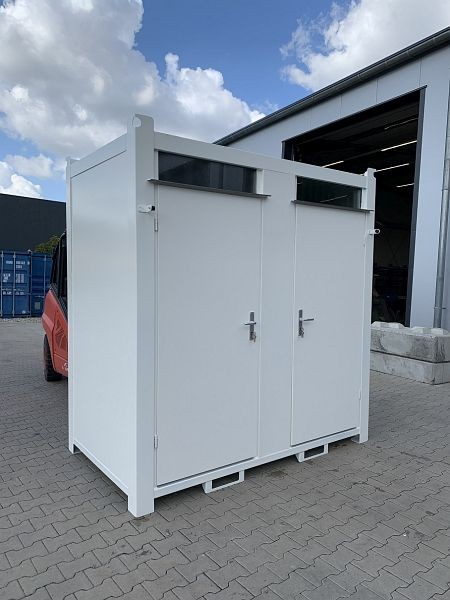 Unitec 8 Fuß WC Box RAL 7035