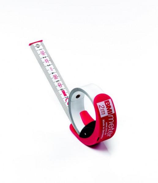 BMI Taschenbandmaß BMImeter, Länge 2m, 429241031