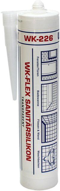 wekem wk flex sanit rsilikon transparent 310 ml wk 226. Black Bedroom Furniture Sets. Home Design Ideas