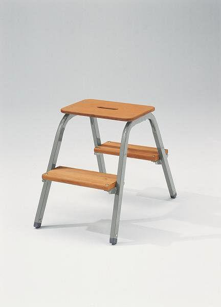 g nzburger steigtechnik stahl holz tritt 2 stufen 39002 kaufen profishop. Black Bedroom Furniture Sets. Home Design Ideas