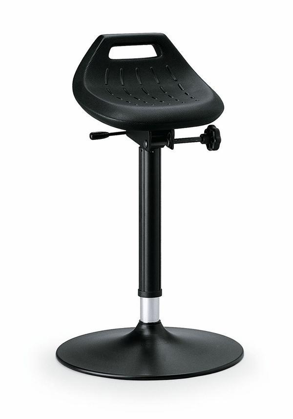 bimos Industriestehhilfe, PU Sitz, Tellerfuß, Sitzhöhe 650 850 mm, 9454 2000 günstig kaufen | PROFISHOP