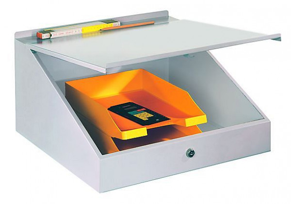 PAVOY Aufsatzpult, klappbarer Deckel mit Abrollkante, 23375-050-001
