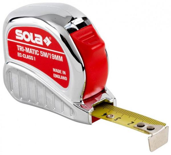 sola rollmeter 13 mm tri matic tm 3 m eg klasse 1 50023701 kaufen profishop. Black Bedroom Furniture Sets. Home Design Ideas