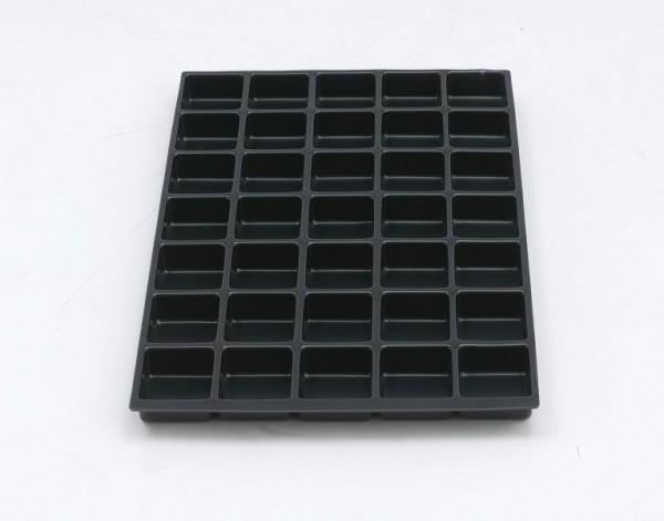 Bisley MultiDrawer™ Schubladeneinsatz A4 35 Fächer für alle DIN A4 Schubladen, Kunststoff, 221P1800