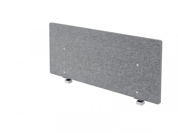 Hammerbacher Akustik-Trennwand, grau-meliert