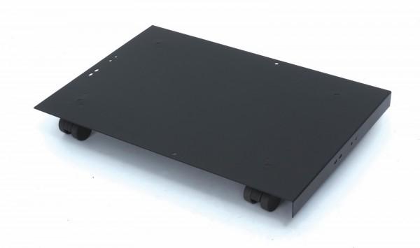 Bisley MultiDrawer™ Rollenuntersatz für Schubladenschränke 29er + 39er Serie DIN A4, schwarz, CB5333