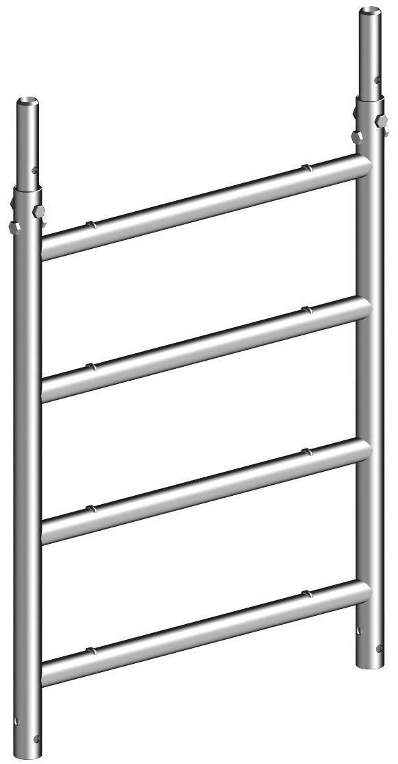 layher h ngeleiter aluminium 75 4 sprossen 1298004 kaufen profishop. Black Bedroom Furniture Sets. Home Design Ideas