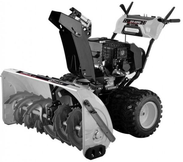 Lumag Profi Schneefräse mit Doppel-Radantrieb und 108 cm Räumbreite, SFR 110 PRO
