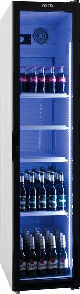 SARO Getränkekühlschrank mit Glastür - schmal Modell SK 301, 323-3150