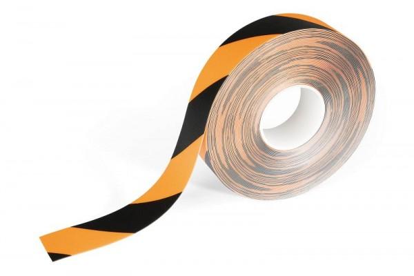 DURABLE DURALINE STRONG 2 COLOUR Bodenmarkierungsband, gelb/schwarz, 1726130