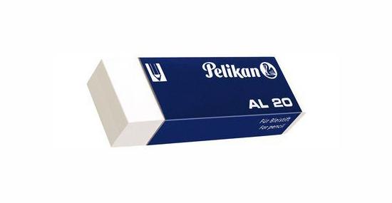 Pelikan Radierer Radiergummi für Griffix ergonomisches Design mit Griffzone blau