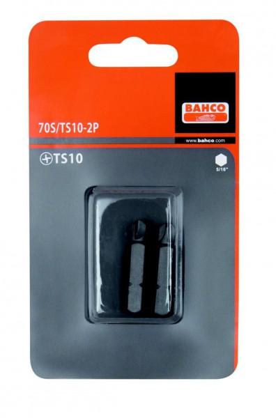 """Bahco 5/16"""" Bits, für Torx®-Schrauben, 35mm T50, 2er Pack, 70S/T50-2P"""
