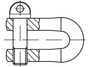 Schakel Din 82101 Stahl A Gr 1 Galv Verzinkt Ve S 25 Stuck