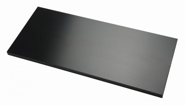 Bisley Fachboden mit Lateralhängevorrichtung für EuroTambour, schwarz, ET410SHPS333