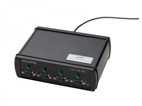 HELIOS PREISSER Tastaturinterface T-Box 302 USB, 4 Eingänge RS232, 9-polig, 997778