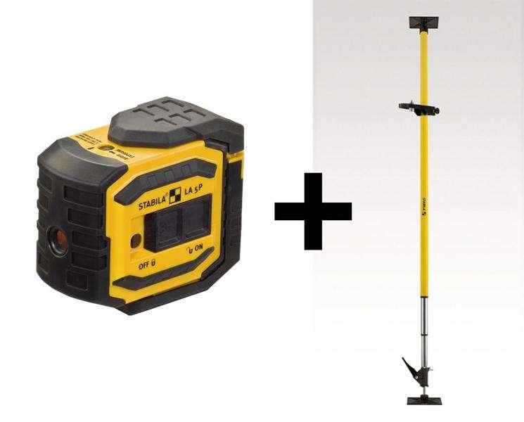 Laser Entfernungsmesser Stabila : Stabila punkt laser la p teiliges set ve stück