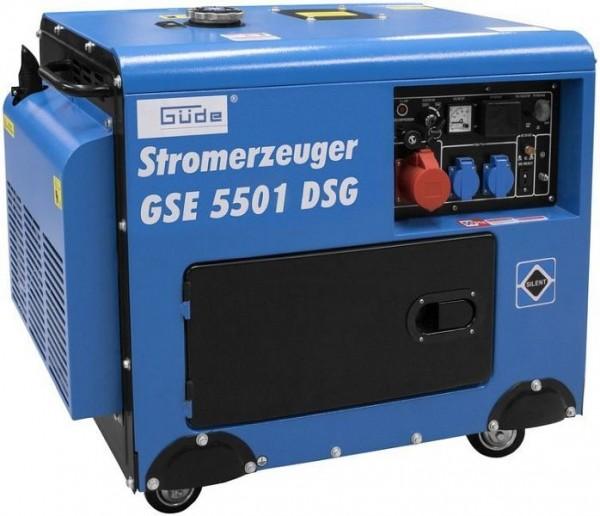 Güde Stromerzeuger GSE 5501 DSG, 40588