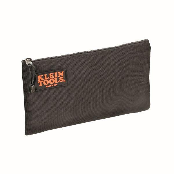 KLEIN TOOLS Schwarze Nylon-Reißverschlusstasche, 5139B