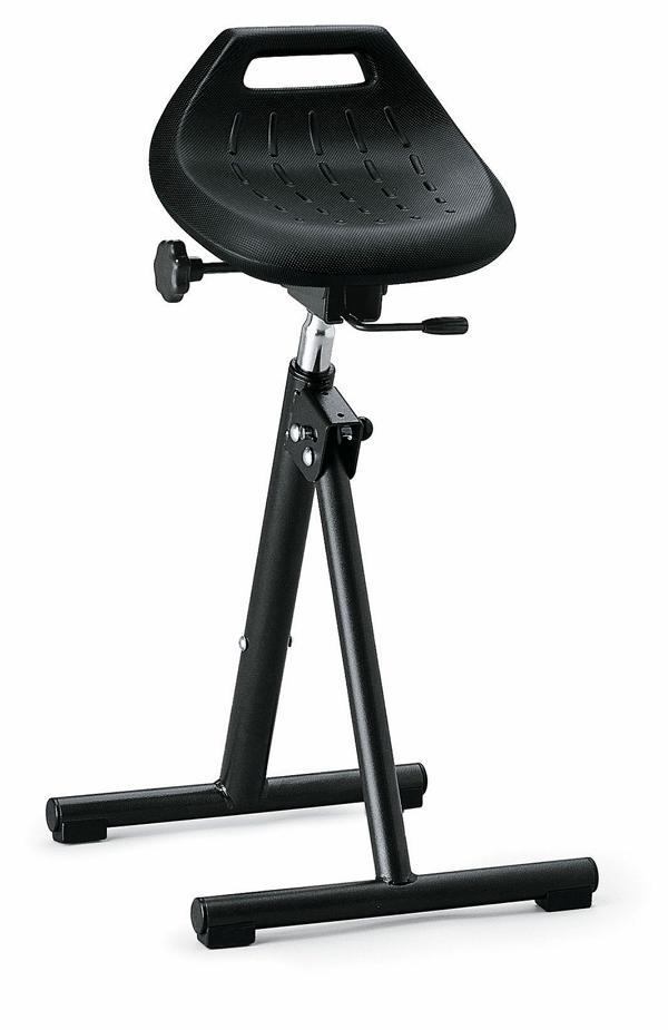 bimos Industriestehhilfe, PU Sitz, klappbar, Sitzhöhe 650 850 mm, 9452 2000 günstig kaufen | PROFISHOP