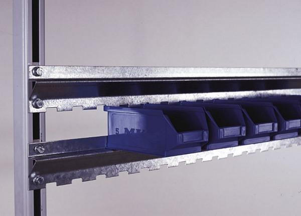 KLW Aufhängeschiene, verzinkt, für Ordnungskästen, 1490 mm lang, ABS-WRAUZ-1500